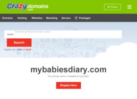 Mybabiesdiary.com thumbnail