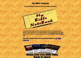 Mybiblenotebook.com thumbnail