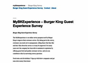 Mybkexperience.rocks thumbnail