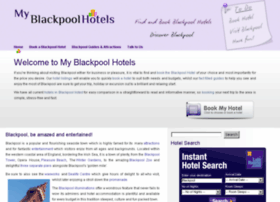 Myblackpoolhotels.co.uk thumbnail