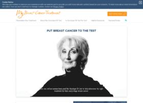 Mybreastcancertreatment.org thumbnail