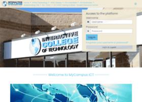 Mycampus.ict.edu thumbnail