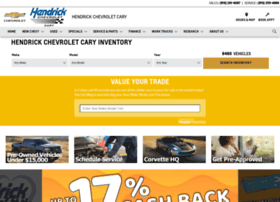 Mycarychevy Com At Wi Hendrick Chevrolet Cary New Chevrolet Used Dealership In Nc