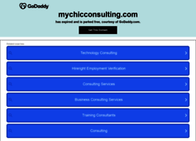Mychicconsulting.com thumbnail