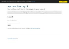Mycounciltax.org.uk thumbnail