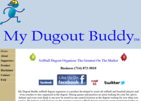 Mydugoutbuddy.com thumbnail