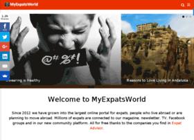 Myexpatsworld.com thumbnail