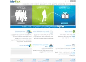 Myfax.co.il thumbnail