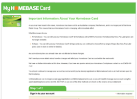 Myhomebasecard.co.uk thumbnail