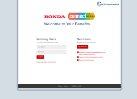 Myhondabenefits.com thumbnail