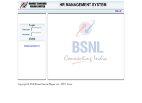 Myhr.bsnl.co.in thumbnail