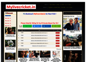 Mylivecricket.in thumbnail