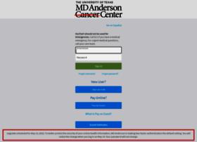 www.mymdanderson.org
