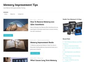 Mymemoryimprovementtips.net thumbnail