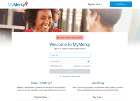 Mymercy.com thumbnail