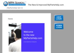 Mypartshelp.com thumbnail