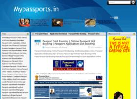 Mypassports.in thumbnail