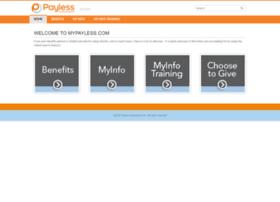 Mypayless.com thumbnail