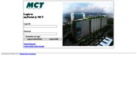 Myportal.mct.com.my thumbnail