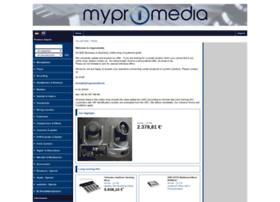 Mypromedia.de thumbnail