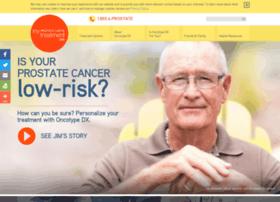Myprostatecancertreatment.org thumbnail