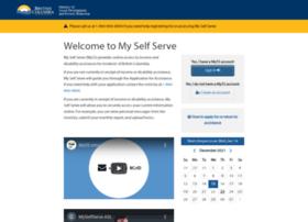 Myselfserve.gov.bc.ca thumbnail