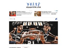 Mysportlife.club thumbnail