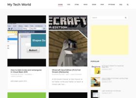 Mytechworld.xyz thumbnail