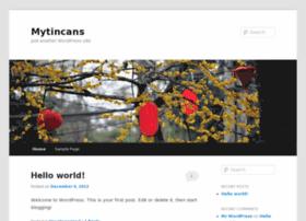Mytincans.net thumbnail