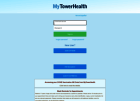mytowerhealth.org at WI. MyTowerHealth - Application Error Page