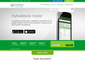Mytradebook.com thumbnail