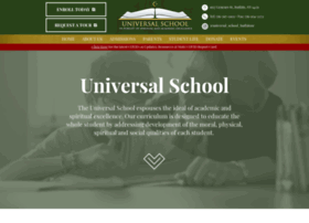 Myuniversalschool.org thumbnail