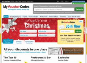 Myvouchercodes.net thumbnail
