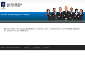 Nacionalidad.notariado.org thumbnail
