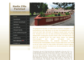 Nadiazillaparishad.gov.in thumbnail