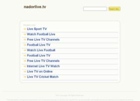 Nadorlive.tv thumbnail
