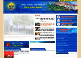 Namdinh.gov.vn thumbnail