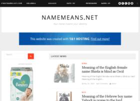 Nameforbaby.net thumbnail