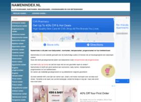 Namenindex.nl thumbnail