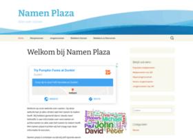 Namenplaza.nl thumbnail