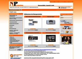 Namepromotion-shop.de thumbnail