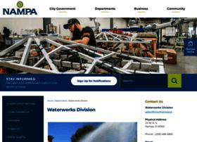 Nampawaterdivision.org thumbnail