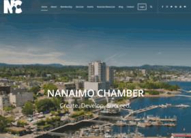 Nanaimochamber.bc.ca thumbnail