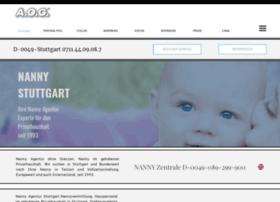 Nanny-stuttgart.de thumbnail