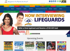 Napervilleparks.org thumbnail
