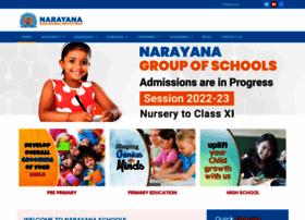 Narayanaschools.org thumbnail