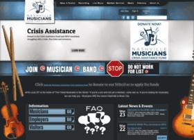 Nashvillemusicians.org thumbnail