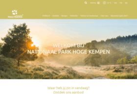 Nationaalparkhogekempen.be thumbnail