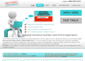 About Us - National Insurance Number Application Agency