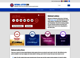 National-lottery.com thumbnail